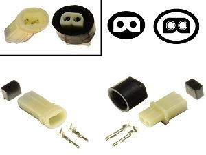 2 pin YPC Sealed connector set