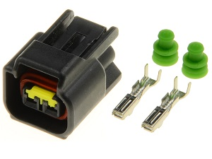 2 way Nippon Denso ignition coil connector plug (129700, 21171)