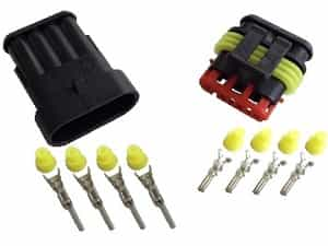 4pin 1.5 superseal connector set