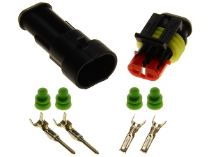 2pin 1.5 superseal connector set
