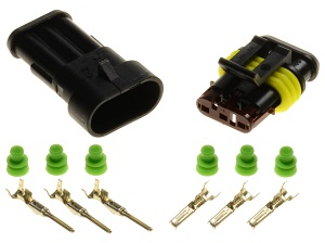 3pin 1.5 superseal connector set