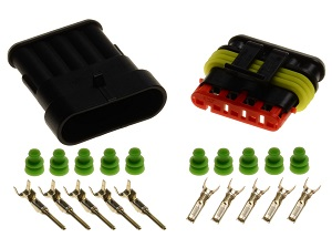 5 pin 1.5 superseal connector set