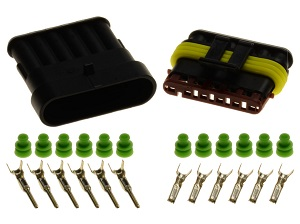 6pin 1.5 superseal connector set