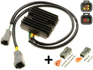 CARR694BU - Buell XB improved MOSFET MOSFET Voltage regulator rectifier (Y0302A-02A8)
