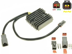 CARR694BU2 - Buell XB improved MOSFET MOSFET Voltage regulator rectifier (Y0302A-02A8)