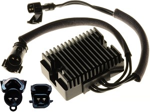CARR-HARLEY-10J - Harley Davidson Sportster 883 1200 XL Voltage regulator rectifier