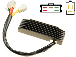 CARR401J-VS14 Suzuki VS1400 intruder Voltage regulator rectifier