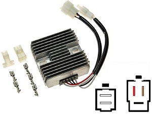CARR071 - Yamaha XT Voltage regulator rectifier