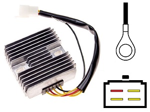 CARR091 - Suzuki GS Voltage regulator rectifier