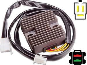 CARR1251 Honda CRM250 MOSFET Voltage regulator rectifier