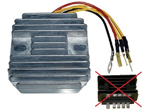 CARR131 - Suzuki MOSFET Voltage regulator rectifier