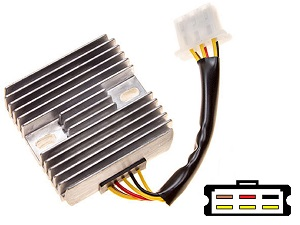 CARR141 Kawasaki MOSFET Voltage regulator rectifier