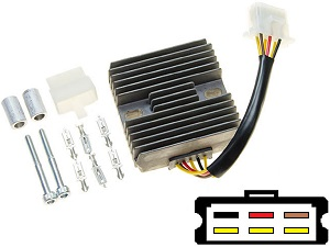 CARR151 - Kawasaki EN500 GPZ500 MOSFET Voltage regulator rectifier