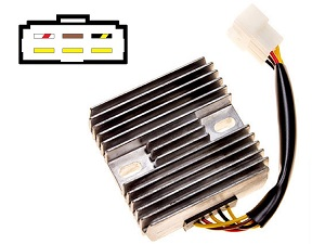 CARR1541 Kawasaki Zephyr ER5 MOSFET Voltage regulator rectifier