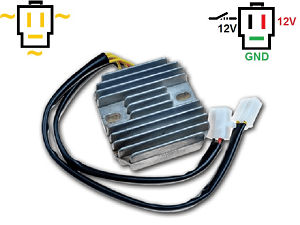 CARR161 - CX500 MOSFET Voltage regulator rectifier