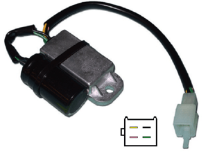 CARR1671 Honda XR Voltage regulator rectifier
