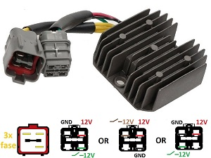 CARR204TGB TGB Blade Target - MOSFET Voltage regulator rectifier