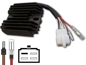 CARR204YFM Yamaha YFM YFB - MOSFET Voltage regulator rectifier