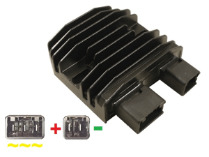 CARR2102 Honda MOSFET voltage regulator rectifier