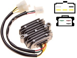 CARR221 - Honda MOSFET Voltage regulator rectifier