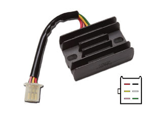 CARR2671 - Honda Voltage regulator rectifier