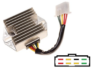 CARR291 - Honda MOSFET Voltage regulator rectifier