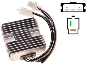 CARR311 - Yamaha XS Kawasaki KH500 MOSFET Voltage regulator rectifier