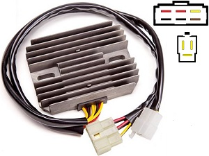 CARR3151 Kawasaki ZX12 ZZR1200 MOSFET Voltage regulator rectifier
