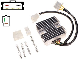 CARR341 - Kawasaki Z650 MOSFET Voltage regulator rectifier