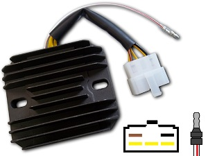 CARR371 - Kawasaki KZ Z MOSFET Voltage regulator rectifier