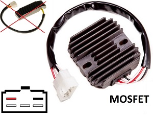 CARR401 - Suzuki intruder MOSFET Voltage regulator rectifier