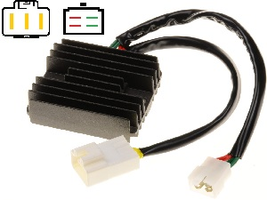 CARR434MG Moto Guzzi MOSFET Voltage regulator rectifier