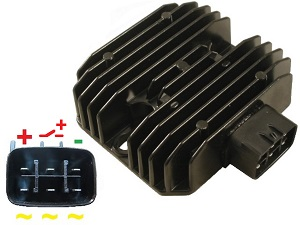 CARR4405 MOSFET Voltage regulator rectifier - SH678A-12, SH578BA, SH699-12, SH650D-11