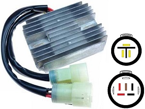CARR441 - Kawasaki ZX MOSFET Voltage regulator rectifier