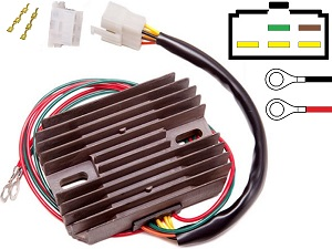 CARR451 - BMW Moto Guzzi MOSFET Voltage regulator rectifier