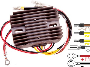 CARR4511 Moto Guzzi Cagiva MOSFET Voltage regulator rectifier