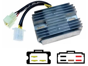 CARR461 - Kawasaki Z ZG ZN 1300 MOSFET Voltage regulator rectifier