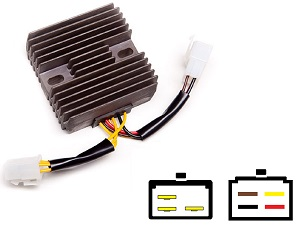CARR471 - Kawasaki Z1300 MOSFET Voltage regulator rectifier