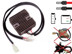 CARR491 - RD250 RD350 MOSFET Voltage regulator rectifier