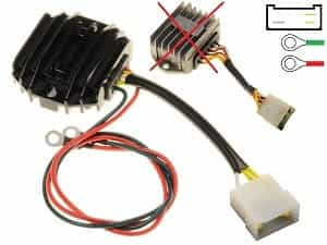 CARR512 Ducati Paso MOSFET Voltage regulator rectifier
