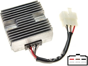 CARR541 Yamaha MOSFET Voltage regulator rectifier