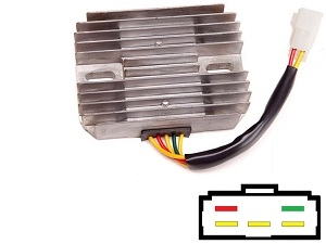 CARR551 Suzuki Kawasaki MOSFET Voltage regulator rectifier