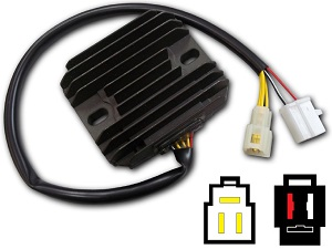 CARR561 Suzuki VZ800 MOSFET Voltage regulator rectifier