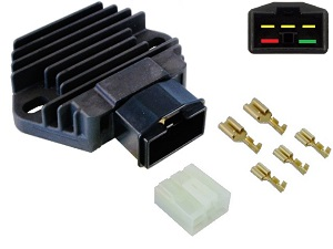 CARR581 + Contra Honda MOSFET Voltage regulator rectifier