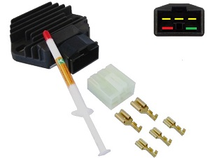 CARR581 + Contra + Paste Honda MOSFET Régulateur de tension redresseur