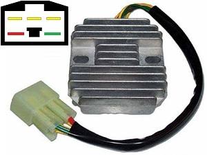 CARR591 Honda VFR400 MOSFET Voltage regulator rectifier
