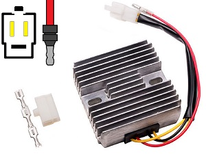 CARR601 - Kawasaki 2-fase MOSFET Voltage regulator rectifier