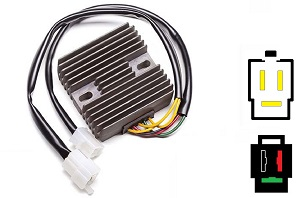 CARR661 - Honda SH532-12 SH590-12 MOSFET Voltage regulator rectifier