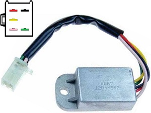 CARR671 Honda XL Voltage regulator rectifier