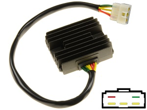 CARR694FZ Yamaha MOSFET Voltage regulator rectifier